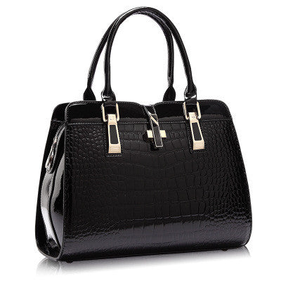 Europe women leather handbags PU