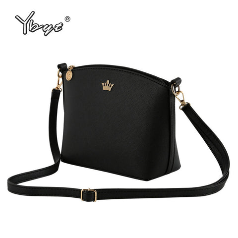 casual small imperial crown candy color handbags ladies party crossbody shoulder messenger