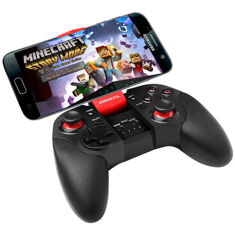 Bluetooth Controller Gamepad  Joystick for Android Phone Samsung Gear VR  with Clip