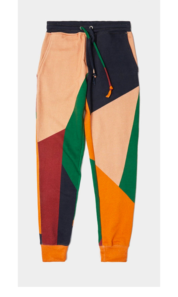 Basic Jogger | Placement Colorblock