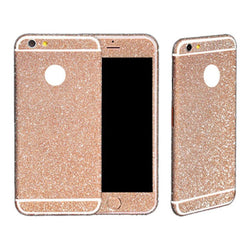 Glitzerfolie Rose Gold