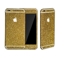 Glitzerfolie Gold