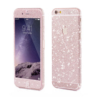 Glitzerfolie Light Pink
