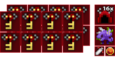 16x Abyss of Demons Key