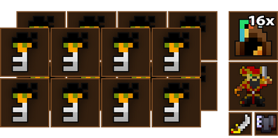 16x Deadwater Docks Key