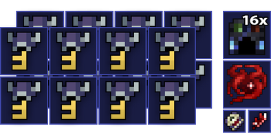 16x Cursed Library Key