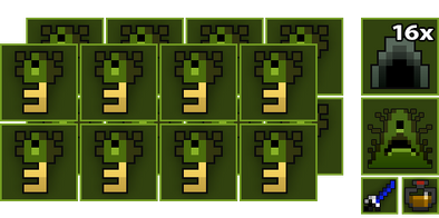 16x Toxic Sewers Key