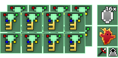 16x Sprite World Key