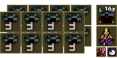 16x Mountain Temple Key
