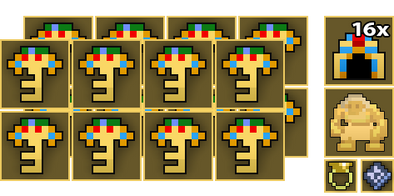 16x Tomb of the Ancients Key