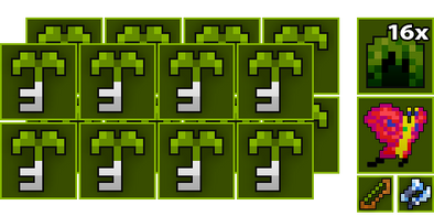 16x Woodland Labyrinth Key