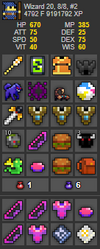 UT Account #28 - RealmStock - RotMG Item Store