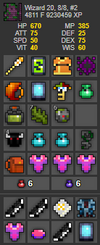 UT Account #25 - RealmStock - RotMG Item Store