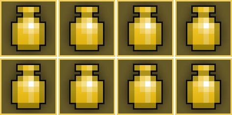 8x Greater Potion of Mana