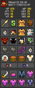 UT Account #29 - RealmStock - RotMG Item Store