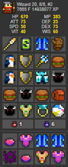 UT Account #30 - RealmStock - RotMG Item Store