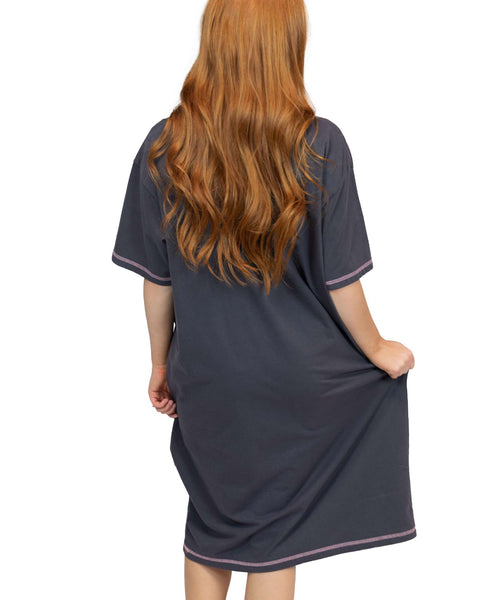 Lazy One Nightshirt - Cat Nap - One Size