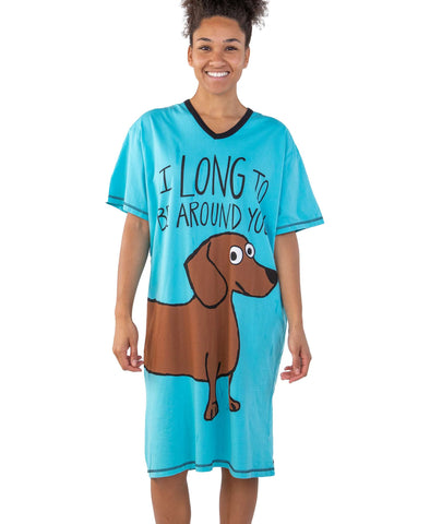 Lazy One Nightshirt - Long to Be  - One Size