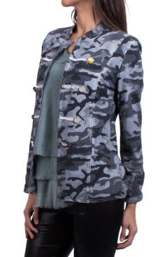Camouflage Cotton Military Jacket