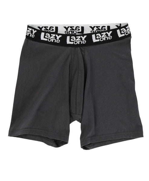 Lazy One Men's Funny Boxer Briefs - Man-ure Hot