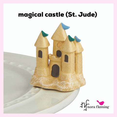Nora Fleming Mini: St. Jude - Magical Castle