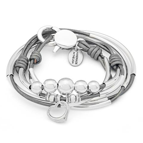 "Lizzy James ""Natalie "" Open Heart Bracelet"