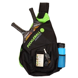 Pickleball Fanatic Sling Bag in Green