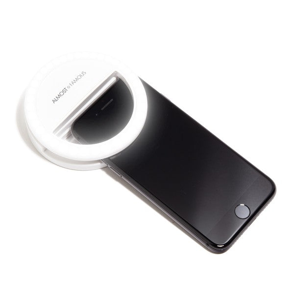 Selfie Ring Light - White and Black