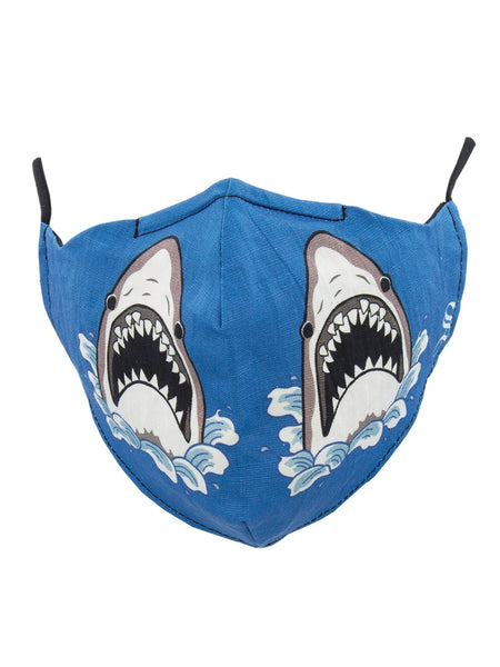 "ONE-SIZE ""SHARK ATTACK"" MASK"