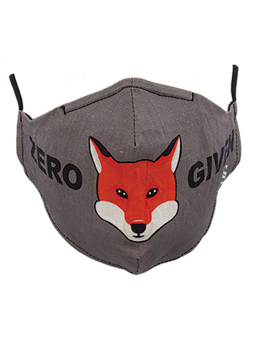 "ONE-SIZE ""ZERO FOX GIVEN"" MASK"