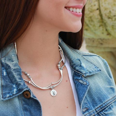 "Lizzy James April with ""Tree of Life"" Charm"