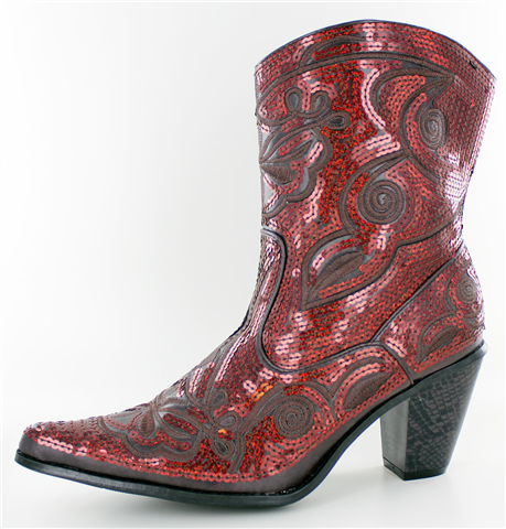 Helen's Heart Short Super Bling Boot in Assorted Colors