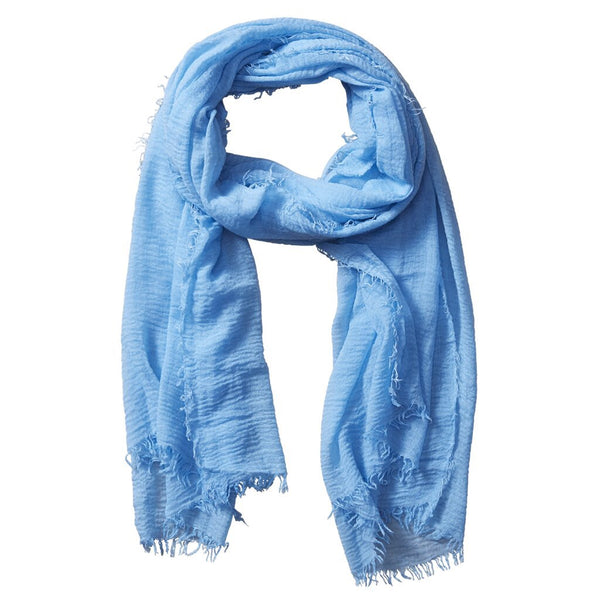 Classic Insect Shield Scarf in Light Blue