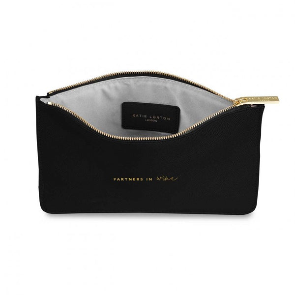 COLOUR POP PERFECT POUCH | PARTNERS IN WINE |  Black