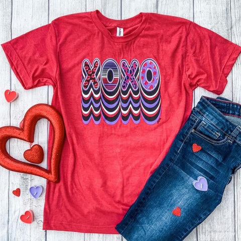 XOXO Bubble print T-Shirt