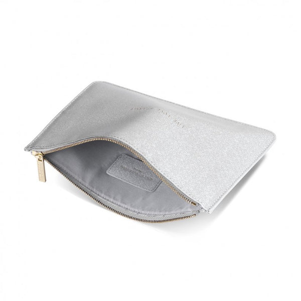 COLOUR POP PERFECT  POUCH | SPARKLE AND SHINE | Metallic Silver