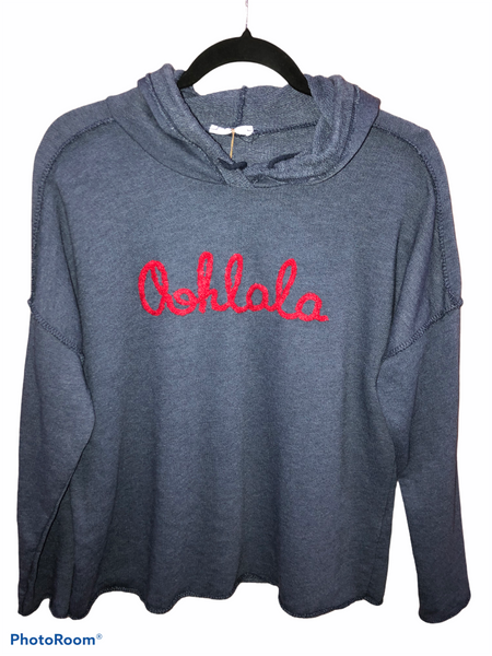 Ooh La La French Terry Hoodie - 3 colors