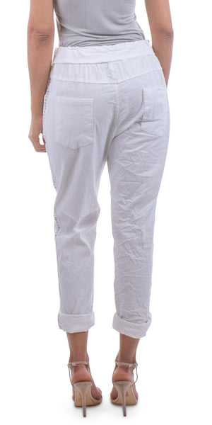 Caterina Cotton Pant  - 3 colors