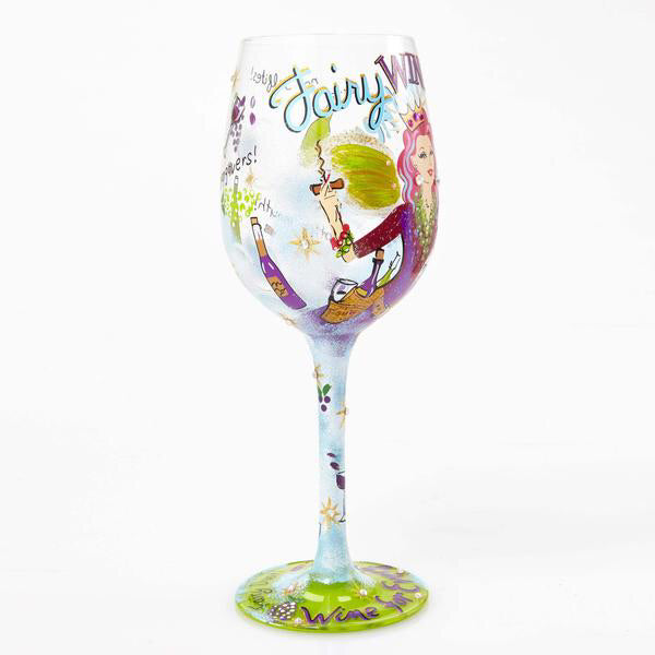 Fairy Wine Mother Wine Glass by Lolita