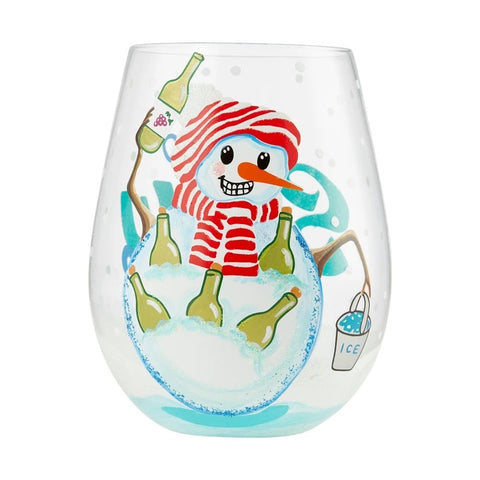 Lolita Up to Snow Good Stemless Wine Glass