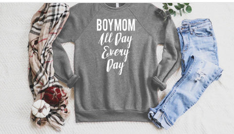 Boymom All Day Sweatshirt