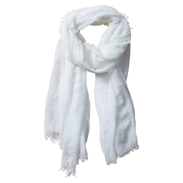 Classic Insect Shield Scarf in Ivory