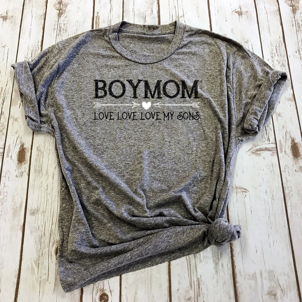 "Boymom ""Love My Sons"" Tee"