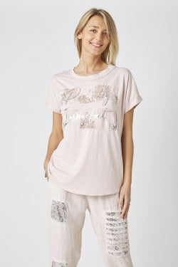 Perfectly Imperfect T-Shirt - Pink