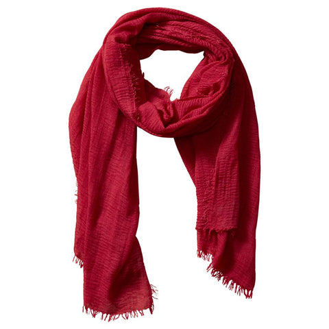 Classic Insect Shield Scarf in Red