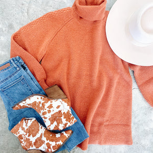 Rust Or Bust Sweater