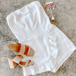 White On Rice Romper