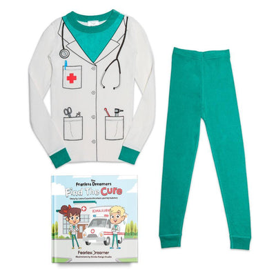 Organic Cotton Doctor Pajamas with FREE Children's Book
