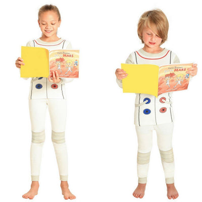 Astronaut Pajamas and Book for Children