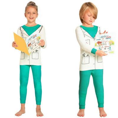 Doctor Pajamas and Book for Children